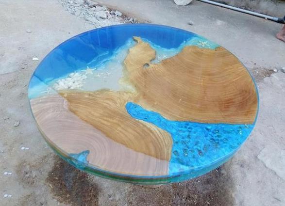 环氧树脂可以做桌子吗 熟知环氧树脂桌子制作流程